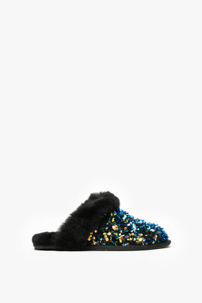 Ugg Women's Scuffette II Stellar Sequin - Rule of Next Footwear