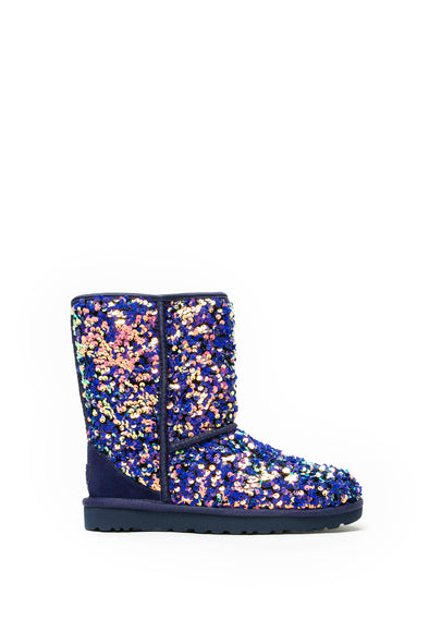 Ugg Women's Classic Short Stellar Sequin - Rule of Next Footwear