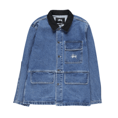 Stüssy Denim Chore Coat - Rule of Next Apparel