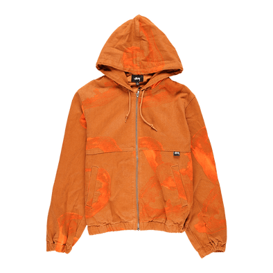 Stüssy Printed Canvas Work Jacket - Rule of Next Apparel