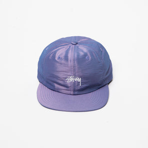 Stüssy Stock Iridescent Strapback Cap - Rule of Next Accessories