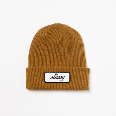 Stüssy Patch Cuff Beanie - Rule of Next Archive