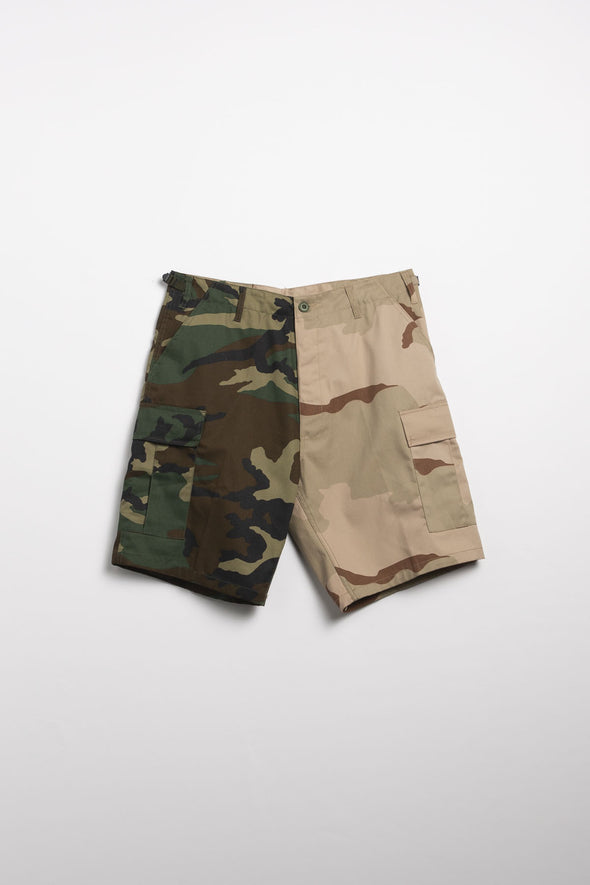 Rothco Two-Tone Camo Shorts - Rule of Next Apparel