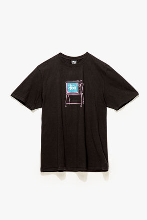 Stüssy Rolling TV Pigment Dyed T-Shirt - Rule of Next Apparel