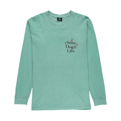 Stüssy Design Labs Pigment Dyed Long Sleeve T-Shirt - Rule of Next Apparel