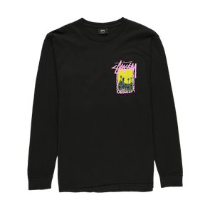 Stüssy Palm Desert Pigment Dyed Long Sleeve T-Shirt - Rule of Next Apparel