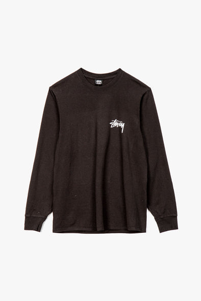 Stüssy Spring Weeds Pigment Dyed Long Sleeve T-Shirt - Rule of Next Apparel