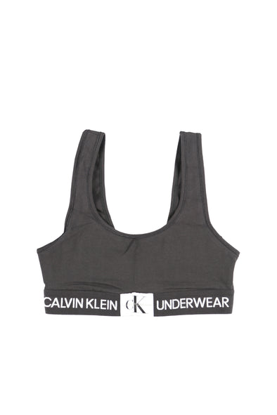 Calvin Klein Women's Monogram Sports Bra - Rule of Next Apparel
