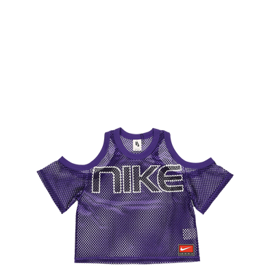 Nike Women's Open Shoulder Mesh T-Shirt - Rule of Next Apparel