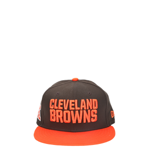 New Era Browns Basic Snapback - Rule of Next Apparel
