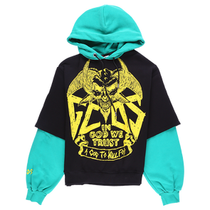 GCDS Maxi Devil Double Hoodie - Rule of Next Apparel