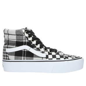 Vans Women's Sk8-Hi Platform 2.0 - Plaid Checkerboard - Rule of Next Footwear