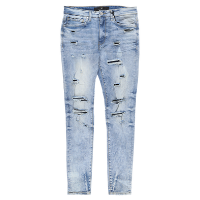Jordan Craig Denim With Bleach And Splatter - Rule of Next Apparel