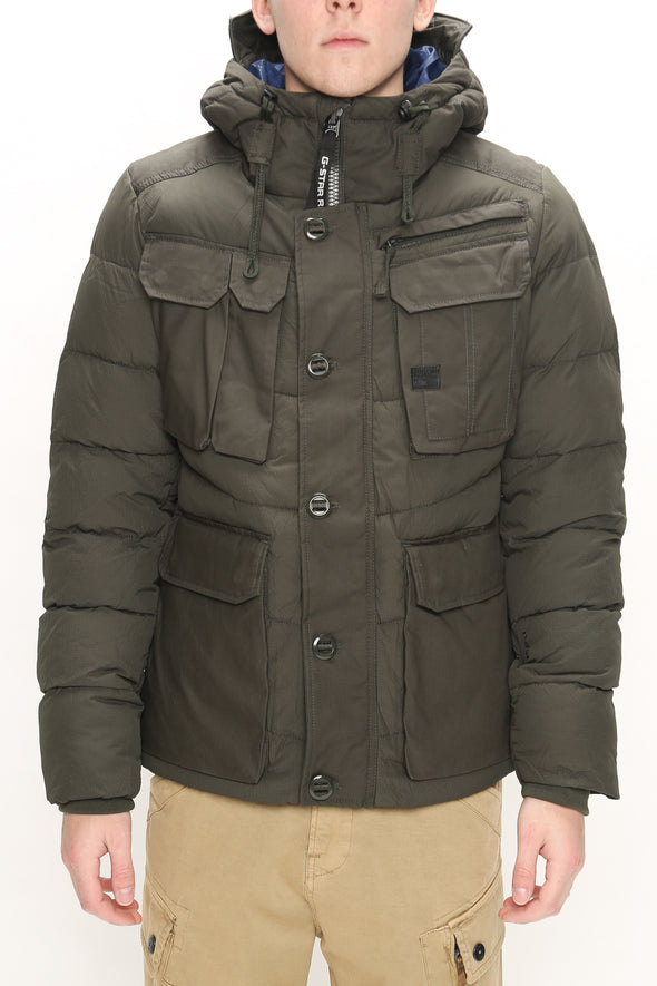 G-Star RAW Whistler Utility Hooded Jacket - Rule of Next Apparel