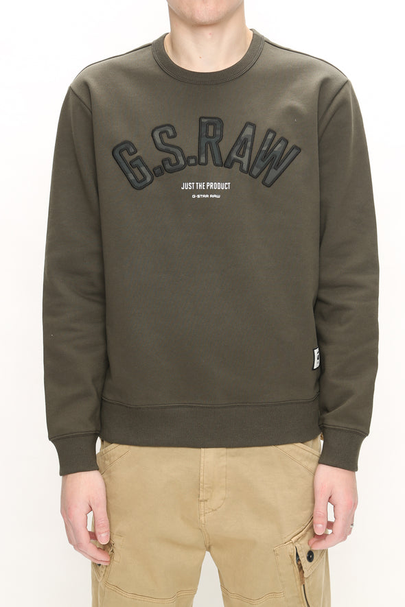 G-Star RAW Graphic 12 Slim Crewneck - Rule of Next Apparel