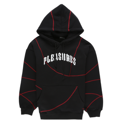 Pleasures Destroyer Contrast Stitch Hoodie - Rule of Next Apparel