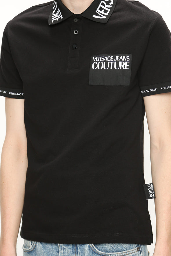 Versace Jeans Couture Logo Collar Polo - Rule of Next Archive