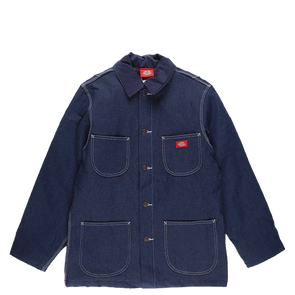 Dickies Denim Zip Front Chore Coat - Rule of Next Apparel