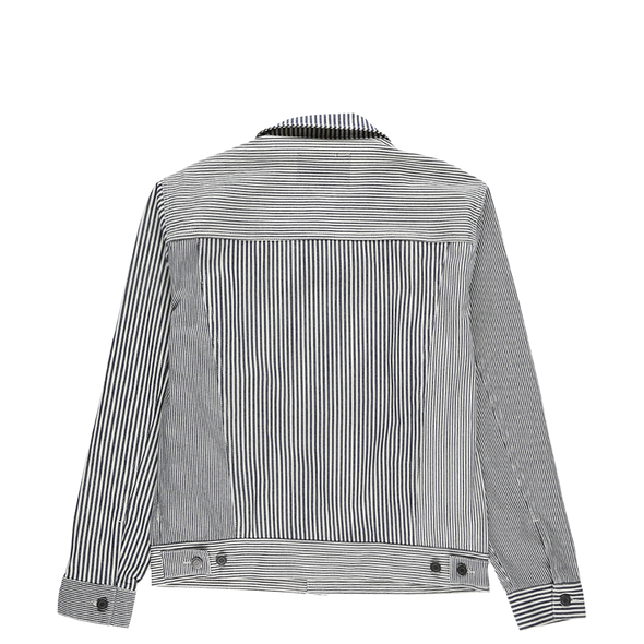 Stussy Mixed Stripe Trucker Jacket - Rule of Next Archive