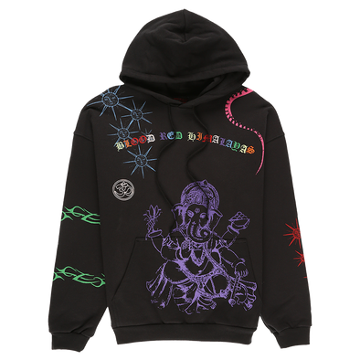 Siberia Hills Himalayan Tattoo Hoodie - Rule of Next Apparel