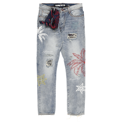 Billionaire Boys Club BB Star Palm Jeans - Rule of Next Apparel