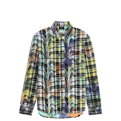 IceCream Big White Plaid Shirt - Rule of Next Apparel