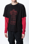 Siberia Hills Justice Double Layered Crewneck - Rule of Next Apparel