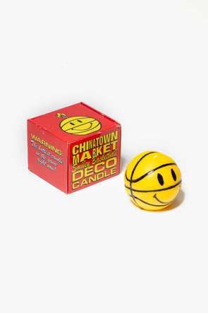 Chinatown Market Smiley Basketball Candle - Rule of Next Lifestyle