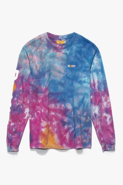 Rokit Abstract Long Sleeve T-Shirt - Rule of Next Apparel