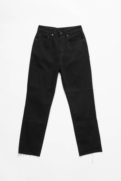 Ksubi Women's Chlo Wasted Crisp Black Denim - Rule of Next Apparel