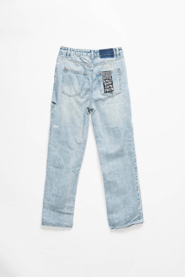 Ksubi Women's Chlo Wasted Slash Jeans - Rule of Next Apparel