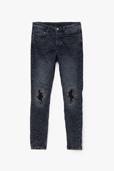 Ksubi Chitch Blue Kolla Slashed Jeans - Rule of Next Apparel
