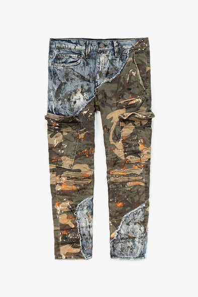 Jordan Craig Camo Denim Jeans - Rule of Next Apparel