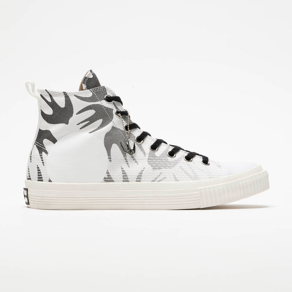 McQ Alexander McQueen Swallow Plimsoll Hi - Rule of Next Footwear