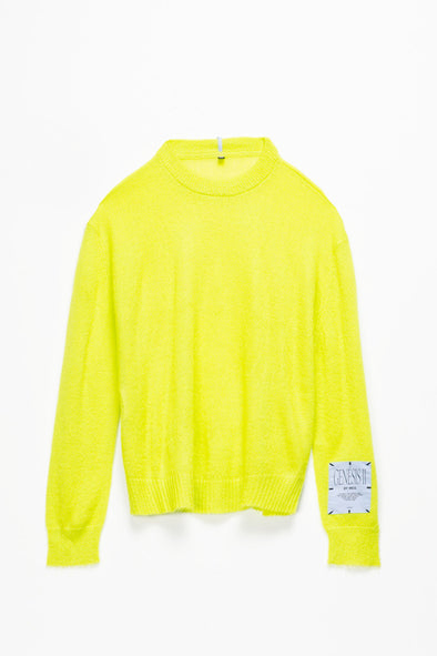 McQ Alexander McQueen Mohair Crewneck Sweater - Rule of Next Apparel