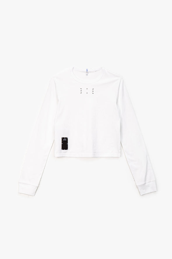 McQ Alexander McQueen Women's Slim Long Sleeve T-Shirt - Rule of Next Apparel