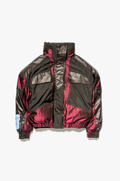 McQ Alexander McQueen Women's Panelled Puffer Jacket - Rule of Next Apparel