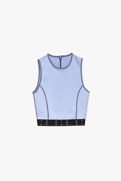 McQ Alexander McQueen Women's Sport Crop Tank - Rule of Next Apparel