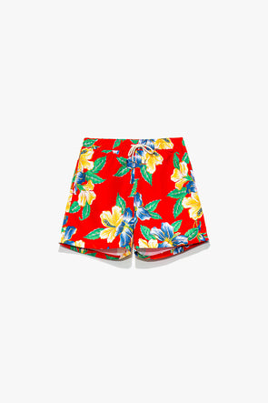 Printed Traveler Swim Short