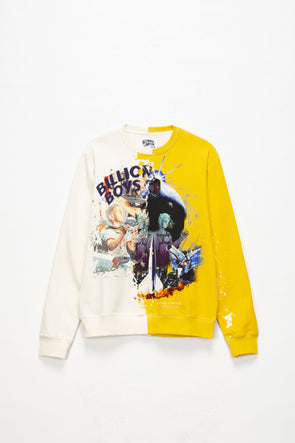 Billionaire Boys Club Split Crewneck - Rule of Next Apparel
