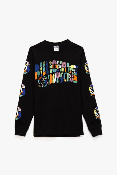 Billionaire Boys Club Abstract Arch Long Sleeve T-Shirt - Rule of Next Apparel