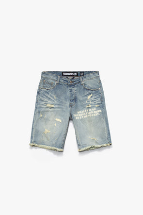 Billionaire Boys Club Parallel Jean Shorts - Rule of Next Apparel