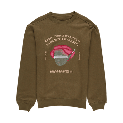 Maharishi Space Geisha Hemp Crewneck - Rule of Next Apparel