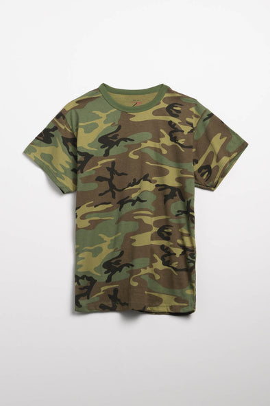 Rothco Heavyweight Camo T-Shirt - Rule of Next Apparel