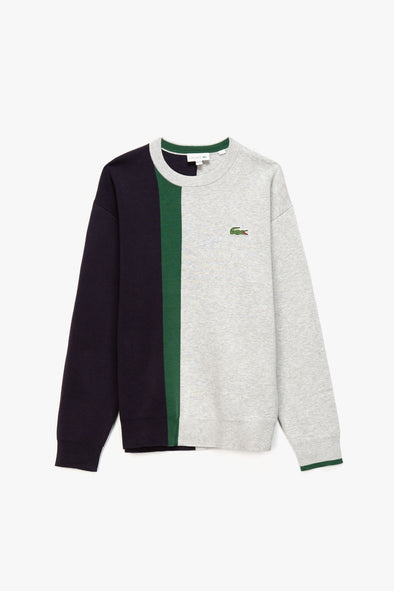 Lacoste Color Block Tricot Sweatshirt - Rule of Next Apparel