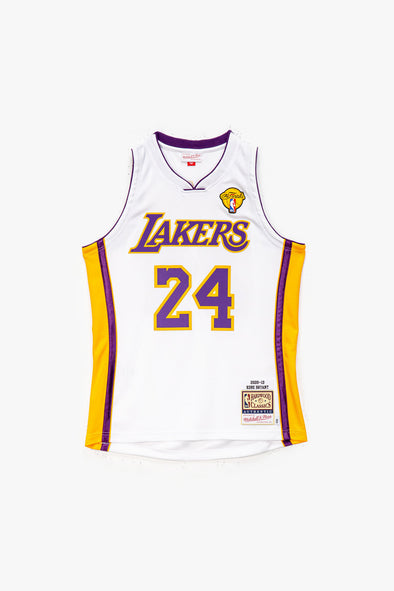 Mitchell & Ness Kobe Bryant '09-'10 LA Lakers Authentic Home Finals Jersey - Rule of Next Apparel
