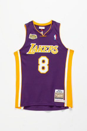 Mitchell & Ness Kobe Bryant '00-'01 LA Lakers Authentic Road Finals Jersey - Rule of Next Apparel