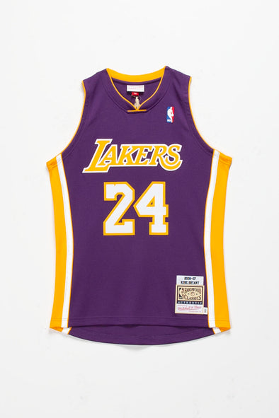 Mitchell & Ness Kobe Bryant '06-'07 LA Lakers Authentic Road Jersey - Rule of Next Apparel