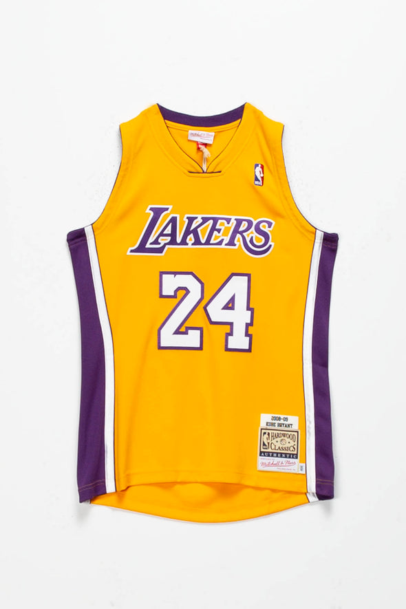 Mitchell & Ness Kobe Bryant '08'-'09 Authentic LA Lakers Home Jersey - Rule of Next Apparel