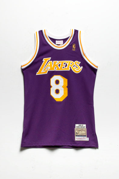 Mitchell & Ness Kobe Bryant '96-'97 LA Lakers Authentic Road Jersey - Rule of Next Apparel